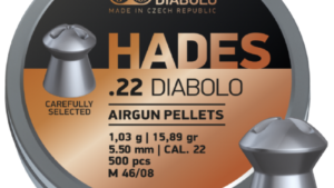 JSB Hades 5.5 мм, 1.03 гр, 500 шт/уп.
