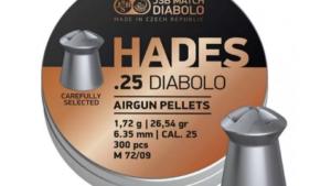JSB Hades 6.35 мм, 1.72 гр, 300 шт/уп.