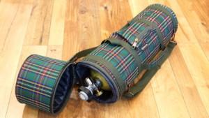 Чехол для баллона с клапаном шотландка