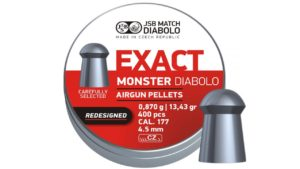 JSB Monster Redesigned Exact Jumbo Diabolo 5,52 мм, 1,645 гр, 200 шт/уп